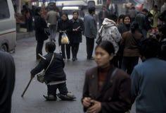 ASIEN KINA CHONGQING Fotografering för Bildbyråer