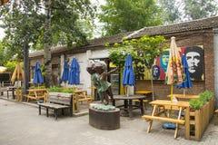 Asien Kina, Peking, 798 Art District Arkivbild