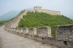 Asien Kina, Peking, den stora väggen Juyongguan, Arkivfoto