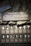 Asien Kina, Peking, museum av kriget av folkmotstånd mot den ŒIndoor för japanAggressionï ¼ utställningen Royaltyfria Bilder