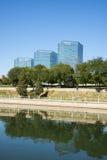 Asien Kina, Peking, område för central affär för CBD, CENTRALT STÄLLE KINA Royaltyfri Bild