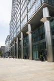 Asien Kina, Peking, område för central affär för CBD, internationellt stadsaffärskomplex, modern arkitektur Royaltyfri Bild