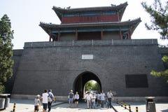 Asien Kina, Peking, södra stad, antika byggnader, arkivbilder