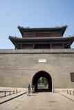 Asien Kina, Peking, södra stad, antika byggnader, arkivfoto