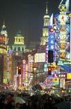 ASIEN KINA SHANGHAI Arkivbilder