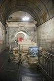 Asien kines, Peking, ŒUnderground för ¼ för Ming Dynasty Tombsï ¼Œunderground palaceï gravvalv arkivfoton