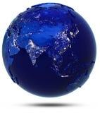 Asien kontinent och länder Royaltyfri Bild