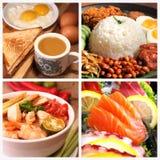 Asien läcker mat royaltyfri foto