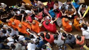 Asien-Mönche auf Buddhas Geburtstagsfeier Stockbild