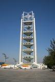 In Asien Peking, China, Linglong-Turm Lizenzfreie Stockfotos