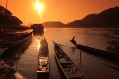 ASIEN SOUTH EAST ASIA LAOS LUANG PRABANG Royaltyfri Fotografi