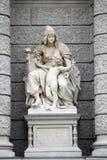 Asien, Statuen, die Verkörperungen der Kontinente darstellen Naturhistorisches Museum, Wien lizenzfreie stockbilder