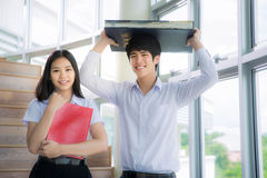 Asien studenter Royaltyfria Bilder