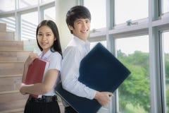 Asien studenter Arkivbild
