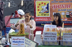 ASIEN THAILAND BANGKOK Royaltyfria Foton