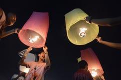 ASIEN THAILAND BANGKOK NYTT ÅR Royaltyfri Bild