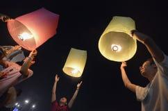 ASIEN THAILAND BANGKOK NYTT ÅR Fotografering för Bildbyråer