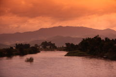 ASIEN THAILAND CHIANG MAI FANG Royaltyfria Bilder