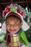 ASIEN THAILAND CHIANG MAI KVINNOR LONGNECK Arkivfoton