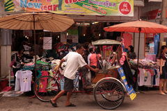 ASIEN THAILAND CHIANG MAI MARKNAD Fotografering för Bildbyråer