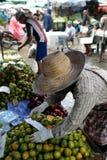 ASIEN THAILAND CHIANG MAI MARKNAD Royaltyfri Bild