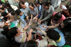 ASIEN THAILAND CHIANG MAI MARKNAD Royaltyfria Bilder