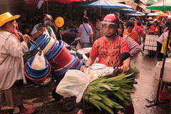 ASIEN THAILAND CHIANG MAI MARKNAD Royaltyfria Foton