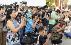 ASIEN THAILAND CHIANG MAI WAT PHAN TAO Lizenzfreies Stockfoto