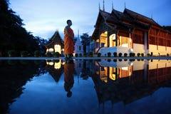 ASIEN THAILAND CHIANG MAI WAT PHRA ALLSÅNG Fotografering för Bildbyråer