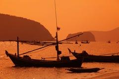 ASIEN THAILAND HUA HIN KHAO SAM ROI YOT Arkivbilder