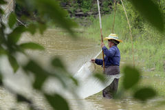 ASIEN THAILAND ISAN AMNAT CHAROEN Lizenzfreies Stockbild