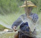 ASIEN THAILAND ISAN AMNAT CHAROEN Lizenzfreie Stockfotos