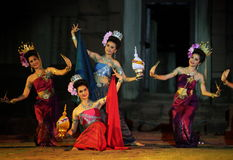 ASIEN THAILAND ISAN KHORAT Royaltyfria Foton