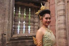 ASIEN THAILAND ISAN KHORAT PHIMAI EN KHMERTEMPEL Arkivbilder