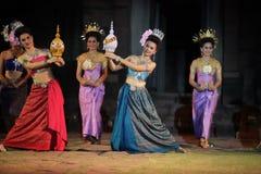 ASIEN THAILAND ISAN KHORAT PHIMAI EN KHMERTEMPEL Royaltyfria Foton