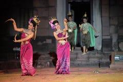 ASIEN THAILAND ISAN KHORAT PHIMAI EN KHMERTEMPEL Arkivfoton