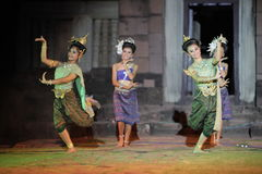 ASIEN THAILAND ISAN KHORAT PHIMAI EN KHMERTEMPEL Royaltyfri Fotografi