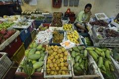 ASIEN THAILAND PHUKET MARKT Fotografering för Bildbyråer