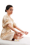 Asien woman relaxing Stock Photography