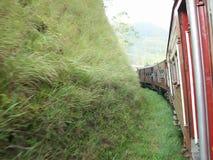 Asien-Zug Stockfoto