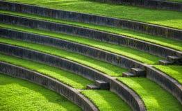 Asiento al aire libre del Amphitheatre Foto de archivo libre de regalías