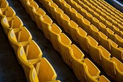 Asiento amarillo Foto de archivo libre de regalías
