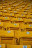 Asiento amarillo Imágenes de archivo libres de regalías