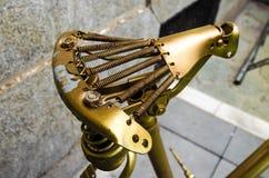 Asiento de bicicleta Foto de archivo libre de regalías