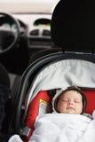 Asiento de carro del bebé Imagen de archivo