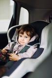 Asiento de carro del niño Foto de archivo libre de regalías