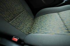 Asiento de coche Imágenes de archivo libres de regalías