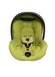 Asiento de coche de bebé aislado Imagenes de archivo