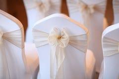 Asiento de la boda Imagen de archivo libre de regalías