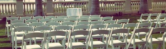 Asiento de la huésped de la boda Foto de archivo